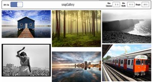 snapGallery.js : jQuery Responsive Galleries