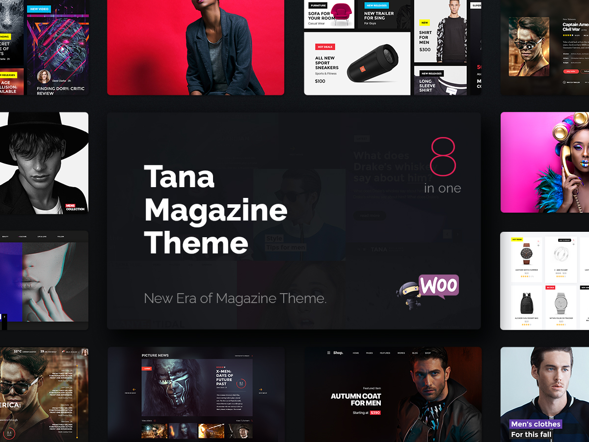 Magazine/News WordPress Themes