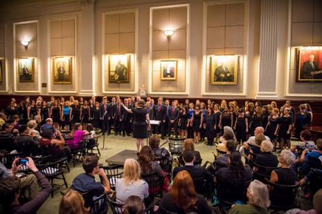 City Bar Chorus performs in the House of the Association