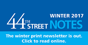 44th Street Notes Winter 2017 - small