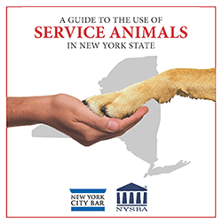 Guide to Use of Service Animals in NY State