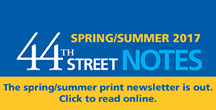 44th Street Notes Spring/Summer 2017 - small