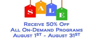 CLE August 2017 Sale Homepage