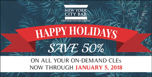 CLE On-Demand Holidays 2017-2018 short