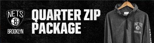 Quarter Zip Package