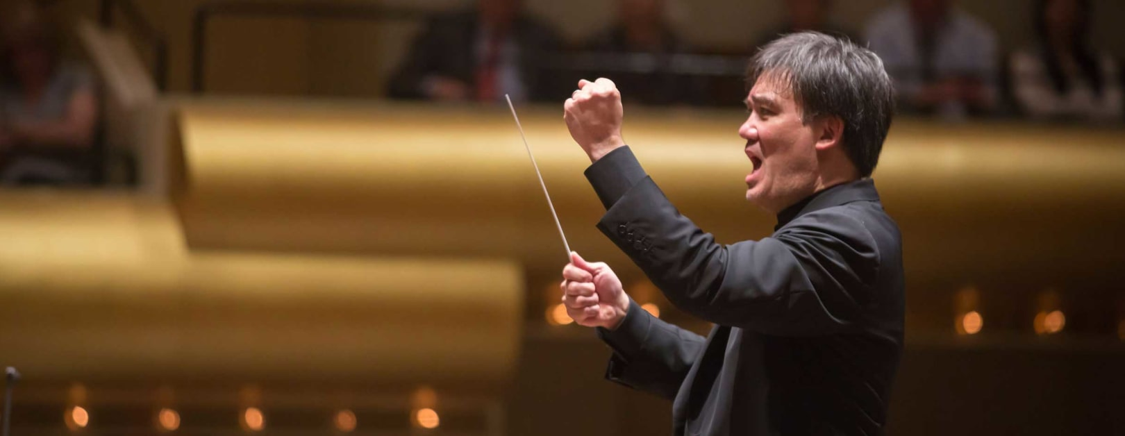 Gilbert Conducts Strauss and Salonen
