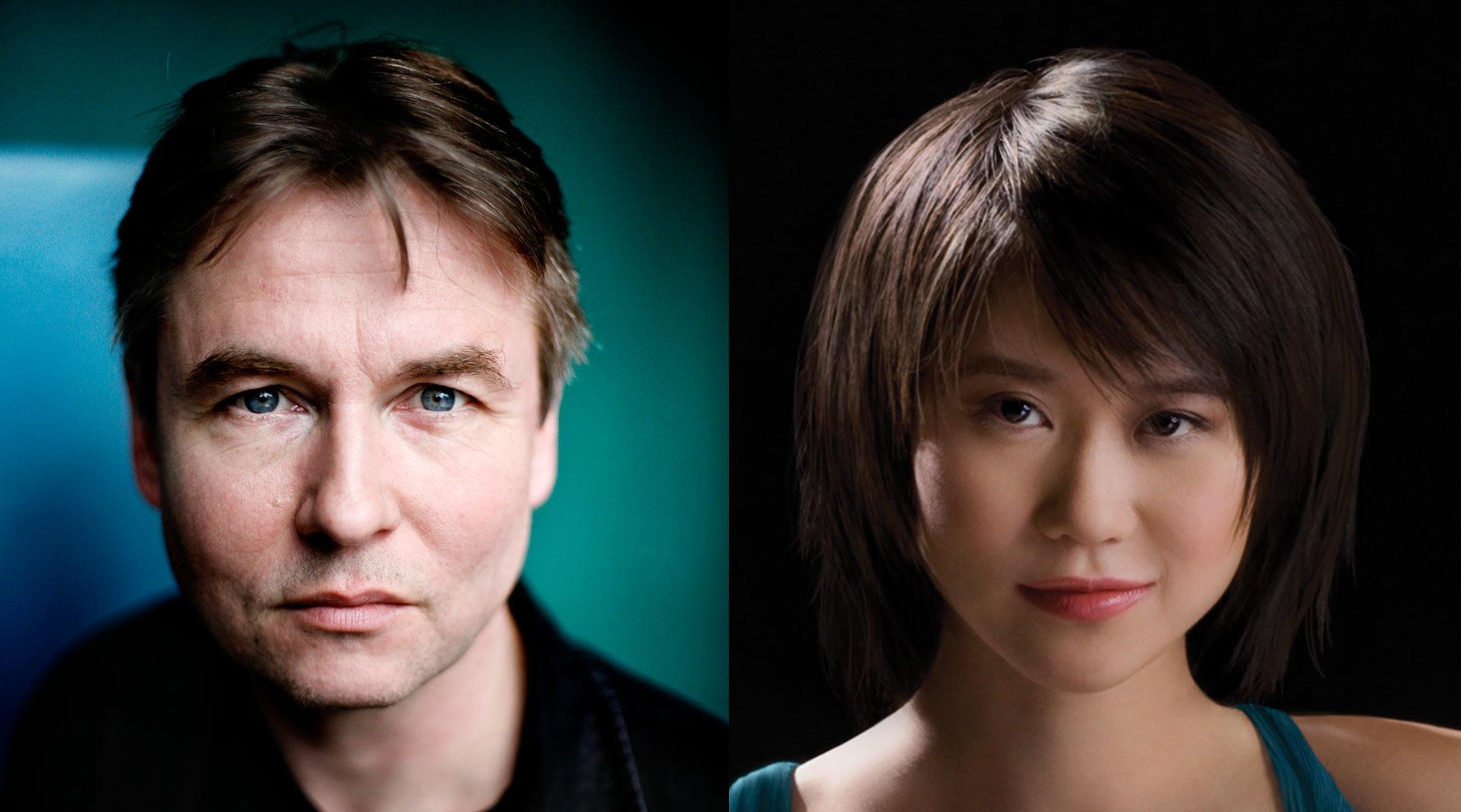 Esa-Pekka Salonen and Yuja Wang