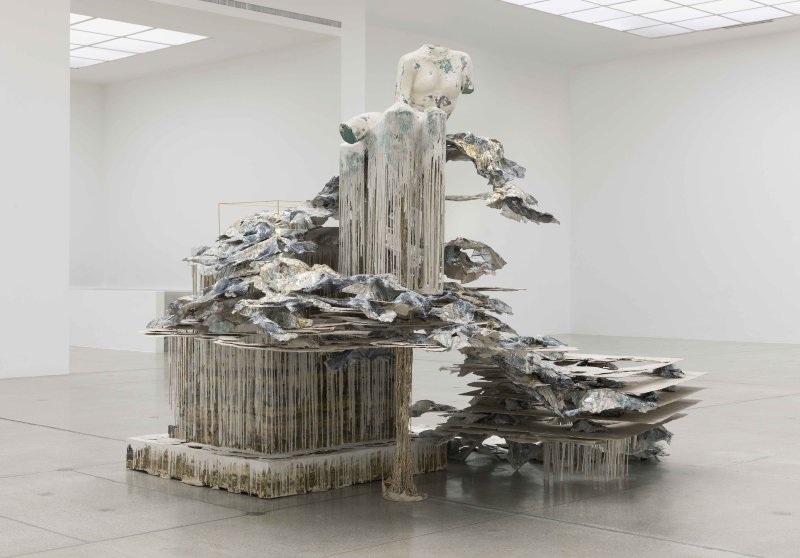 Diana Al-Hadid Phantom Limb — NYUAD Art Gallery