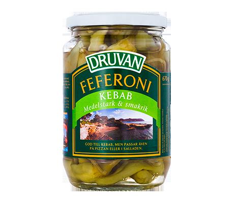 Druvan Feferoni Kebab