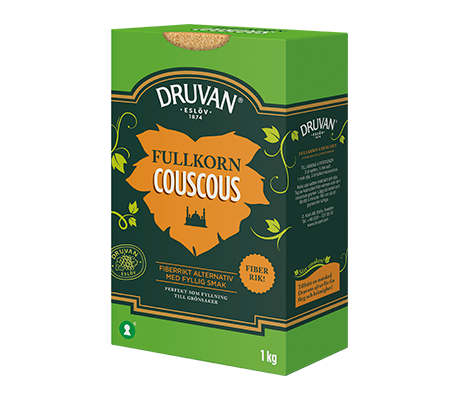 Druvan Couscous Fullkorn