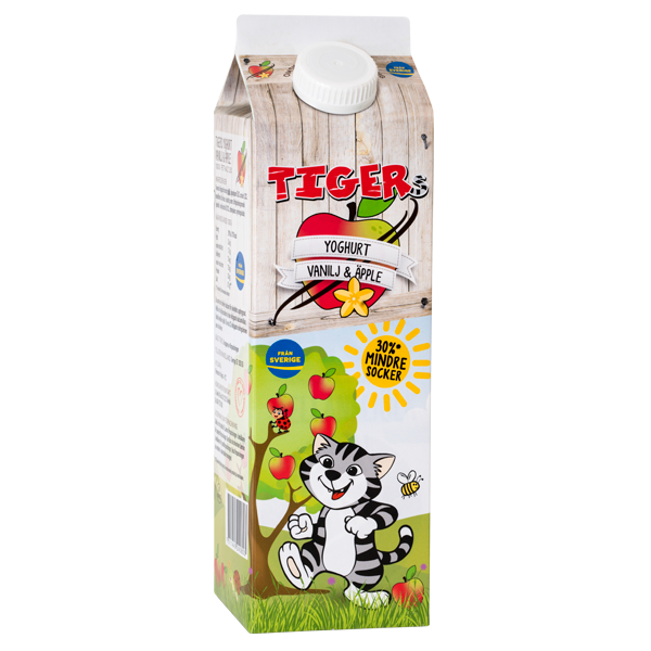 Yoghurt Vanilj & Äpple