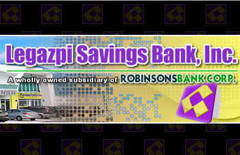 Legazpi Savings Bank - bank in Bicol Region
