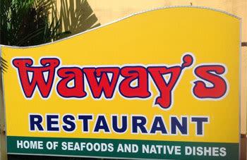 Waway's Restaurant, restaurant - Legazpi City