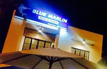 Blue Marlin Bar & Grill, seafood restaurant - Legazpi City