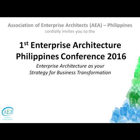 1st EA Philippines Conference 2016