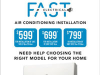 Split System Installation Northern Suburbs - Fast Electrical