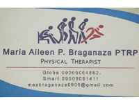 Maria Aileen P. Braganaza PTRP - Physical Therapist