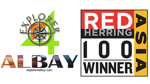 Explorer 4 Albay - Red Herring Asia 100 Winner