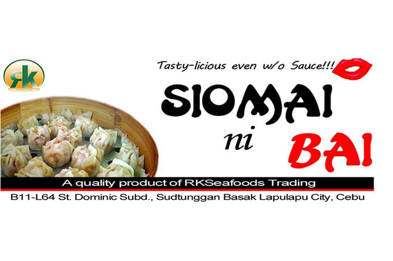 SIOMAI ni BAI - Tasty-licious even w/o Sauce with Beta-Carotene.Pure Meat.No Taba.