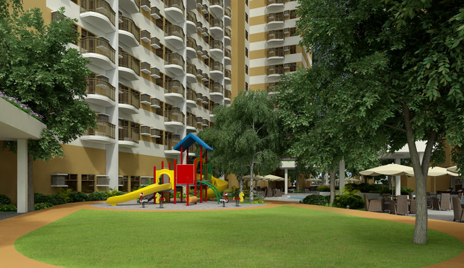 Activity Lawn and Play Area