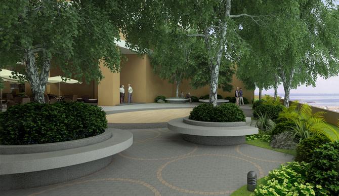 Meditation Exercise Garden