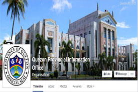 Facebook Page of Quezon Provincial Information Office