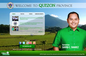 Quezon Province Website