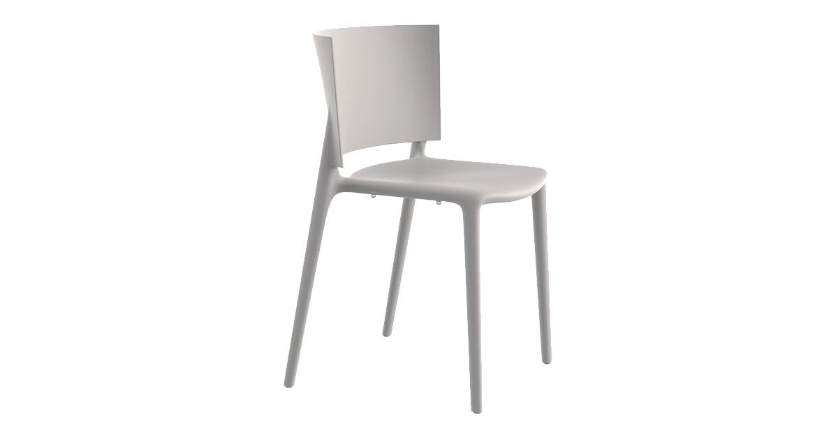 Chaise Africa blanche