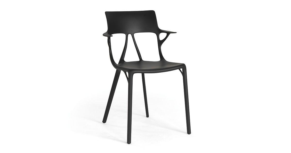 Chaise A.I. noire