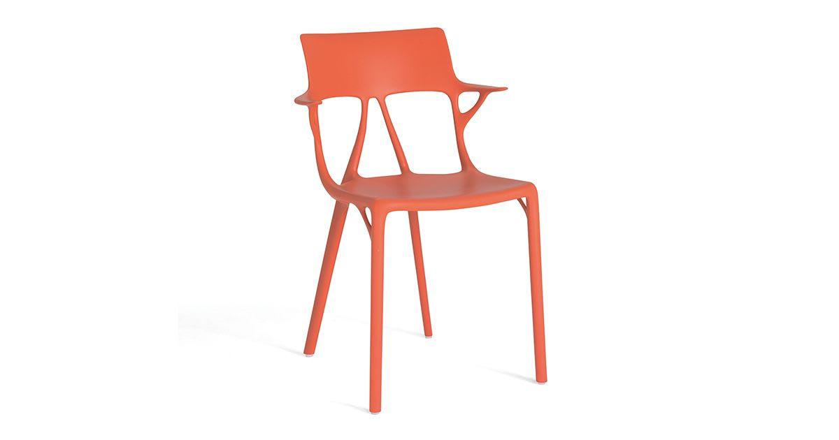 Chaise A.I. orange