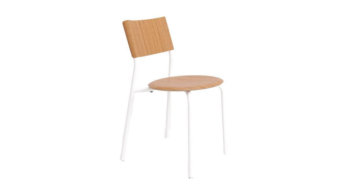 Chaise SSD Chêne Blanc Nuage
