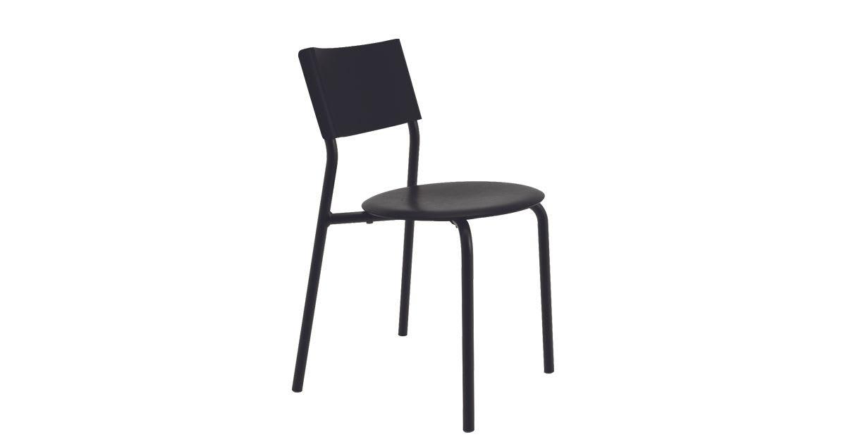 Chaise SSDr Noir Graphite