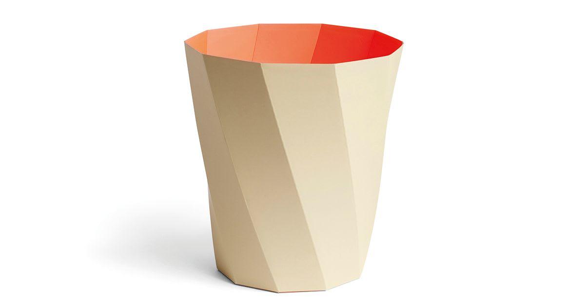 Poubelle à papier Paper - warm beige