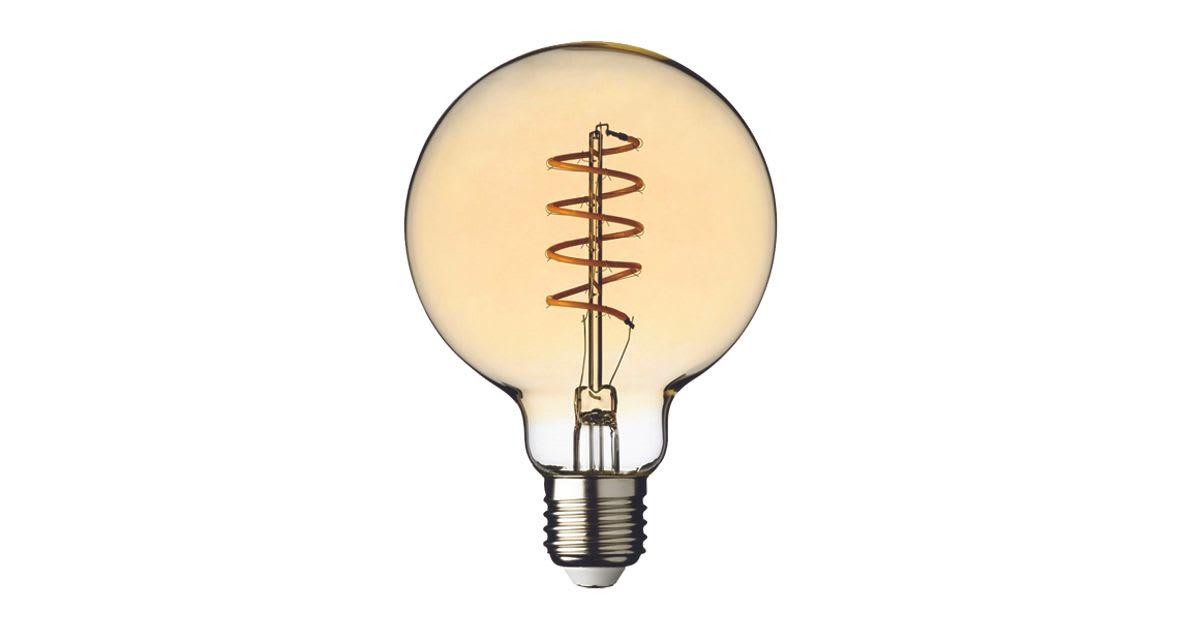 Ampoule SPIRALO 6W E27- G95