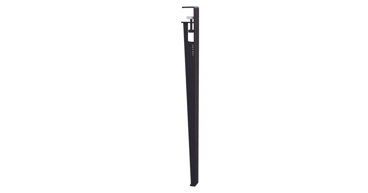 Pied de table TIPTOE 75 cm Noir Graphite
