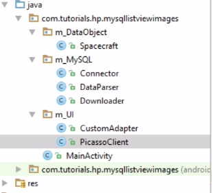 Android MySQL : Images Text – ListView Part 2 [Java Code]