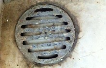 End User with floor drain replaced with idrain