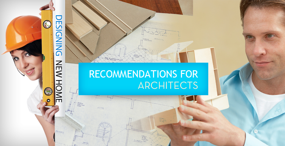 iDrain Recommendations For Architects
