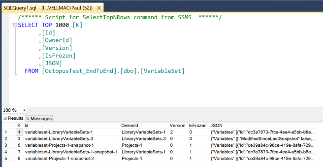 Storing documents in SQL