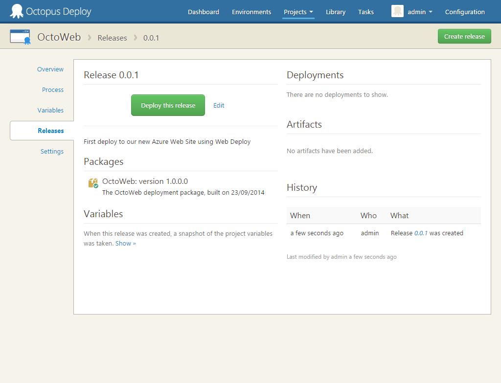 Release Overview