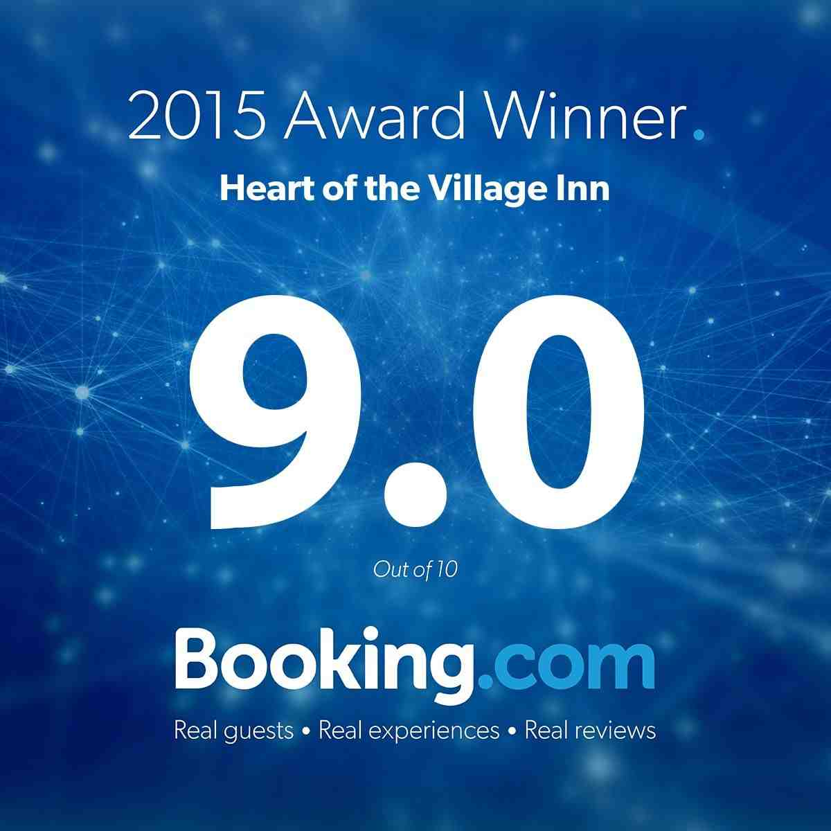 2015 Booking.com Award Winner