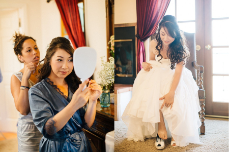 Wedding Preparation and Photo Shoots