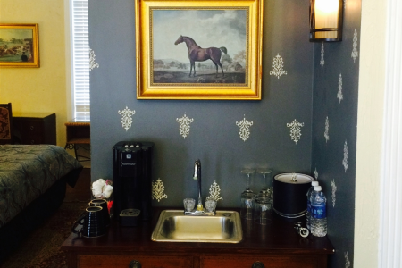 Inn Rooms  English Suite King, Private Entry