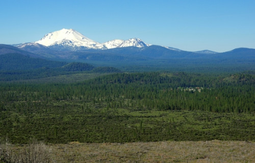Hiking Trails on North side of Lassen National Park / Hwy 44