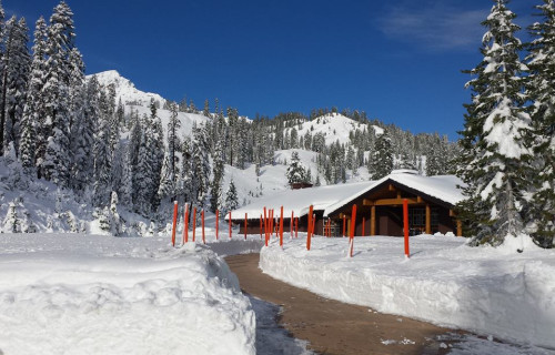Winter Sports in Lassen Volcanic National Park