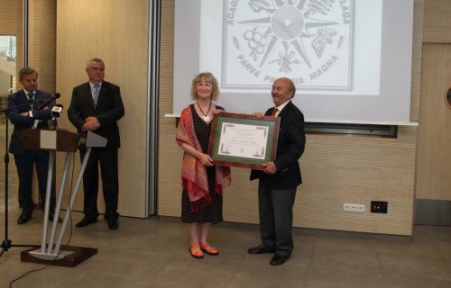 HOT NEWS!  HOTEL LOS CASTAÑOS HAS BEEN AWARDED THE JOSÉ MELIÁ SINISTERRA AWARD FOR BEST INLAND HOTEL
