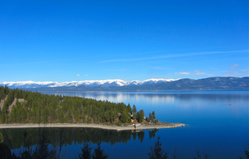 Flathead Lake North of Bear Spirit Lodge