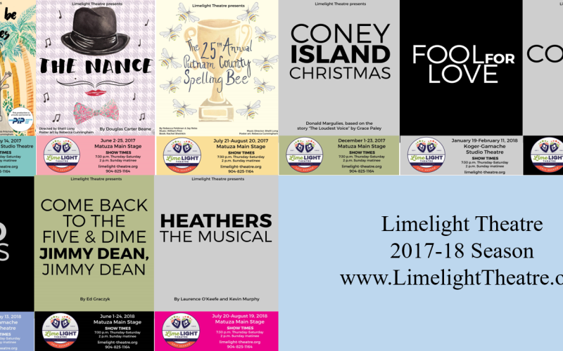 Limelight Theatre 2017-18 Lineup