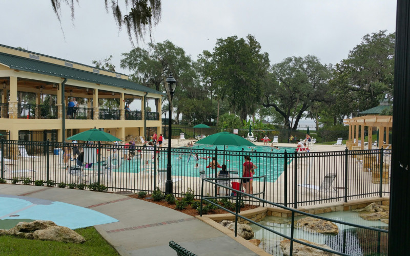 Grand opening of Spring Fed Pool