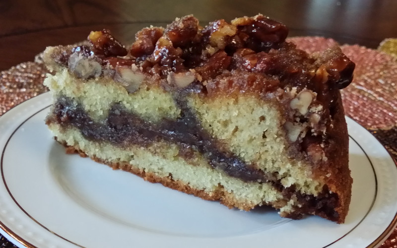 Oscar H. Hanson House B&B Serves Sinful Cinnamon Coffee Cake